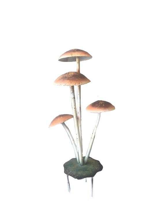 Iron mushroom coloured gardenplug